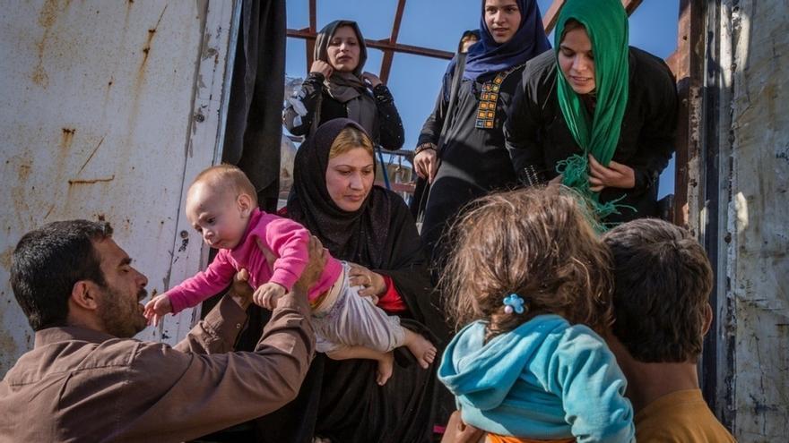 Amnistía internacional recogerá este sábado en Bilbao firmas a favor de las personas refugiadas