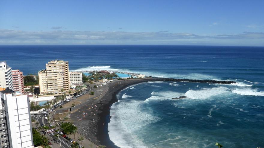 Puerto de la Cruz, en el norte de Tenerife