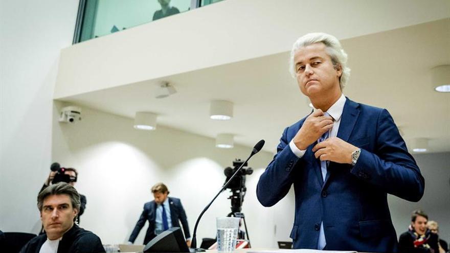 Wilders niega ser racista y pide que se respete su libertad de expresión