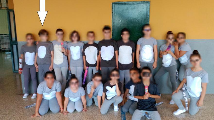 Fiesta final de curso 4º de primaria CEIP El Tarajal