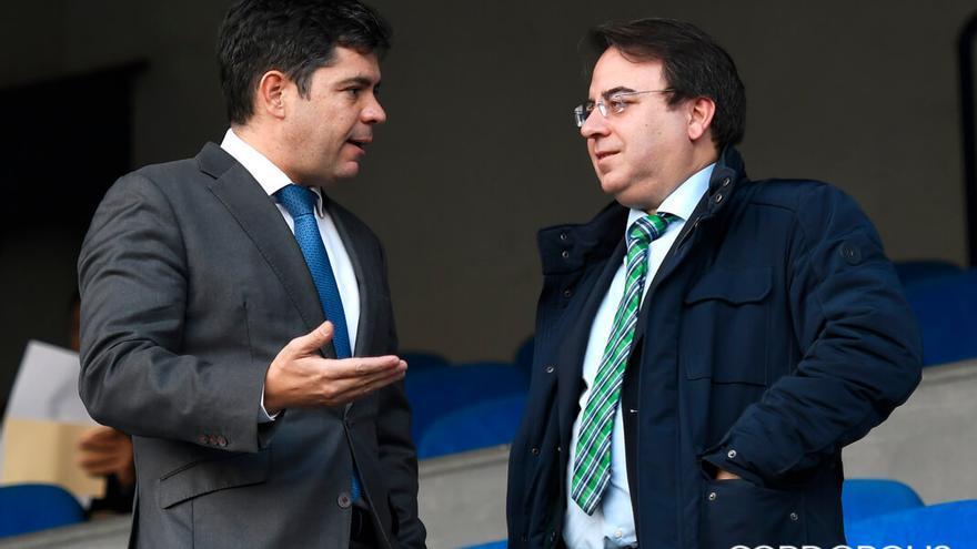 Francisco Estepa y Ramón Cuadros, en La Condomina de Murcia | LOF