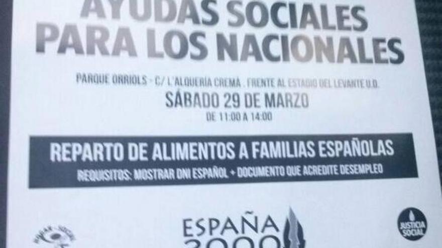 España 2000 ayudas sociales