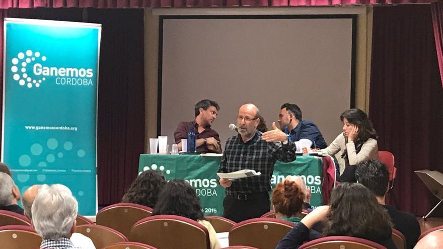 Asamblea de Ganemos Córdoba que ha aprobado buscar la confluencia para las municipales de 2019.