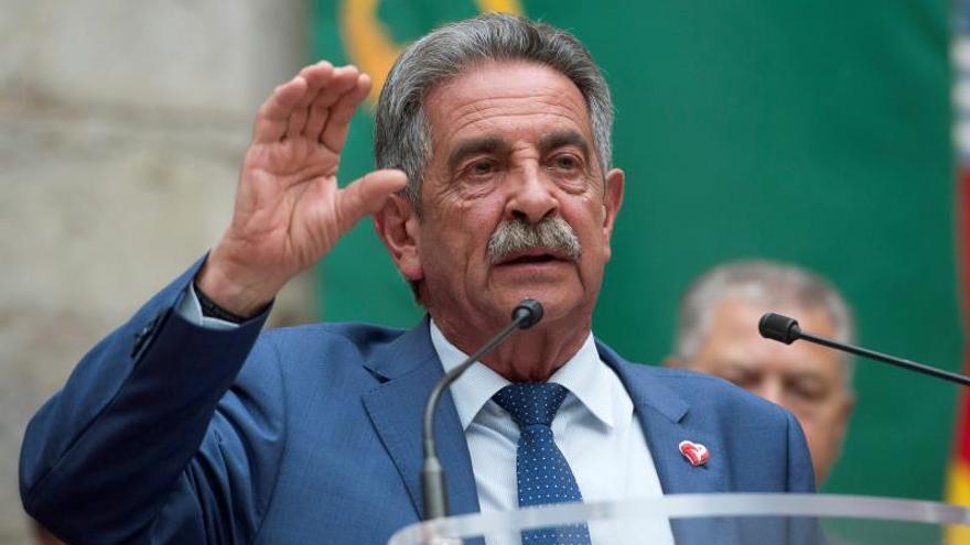 Miguel Ángel Revilla en una imagen de archivo.