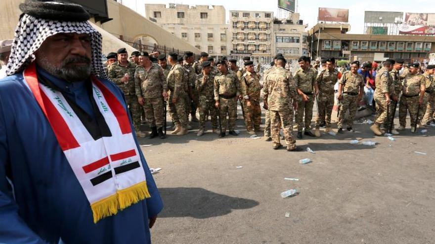 Se elevan a doce los muertos y a casi 800 los heridos en las protestas en Irak
