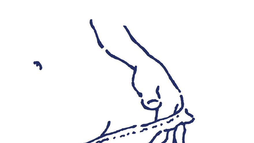 Ilustración de la exposición 'Entre tus líneas', de Nacho Casanova