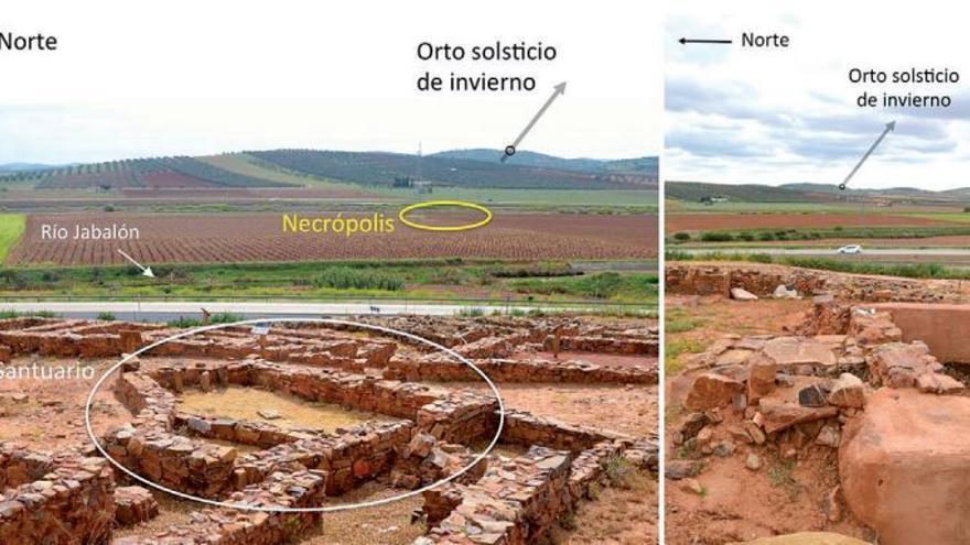 Orientaciones del santuario del Cerro de las Cabezas / Trabajos de Prehistoria