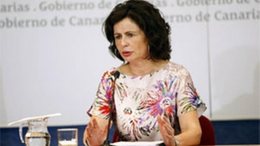 La viceconsejera de Economía y Asuntos Económicos con la Unión Europea del Gobierno de Canarias, Matilde Asián.