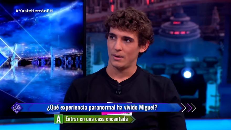 Miguel Herrán en 'El Hormiguero'
