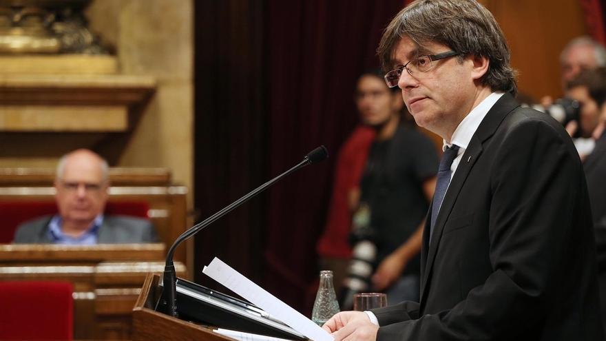Puigdemont encargó en abril a Pi-Sunyer un informe sobre un referéndum acordado