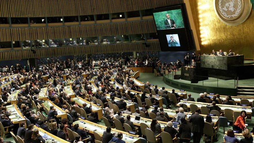 Debate de la Asamblea General de la ONU, en su sede de Nueva York. / Efe.