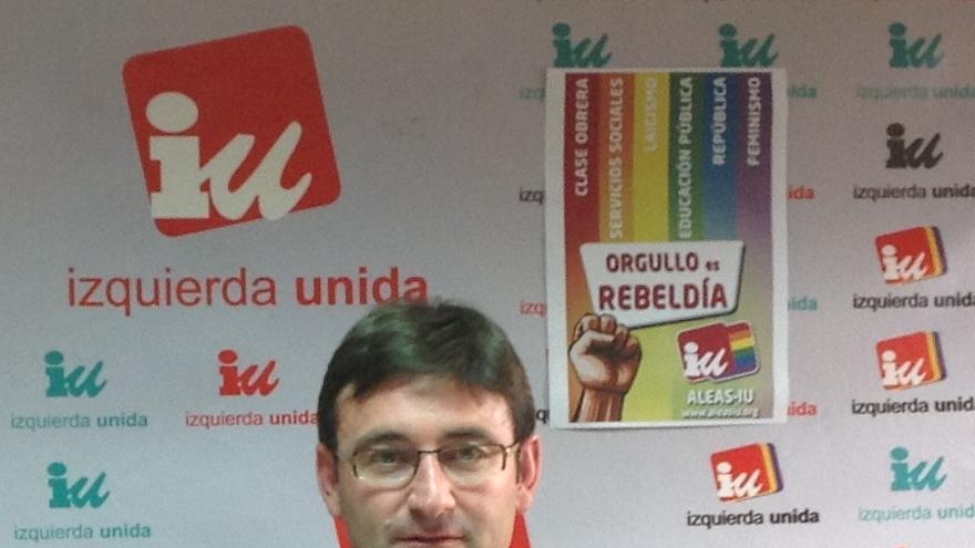 Daniel Martínez, coordinador de IU en Castilla-La Mancha / Foto: IU-CLM
