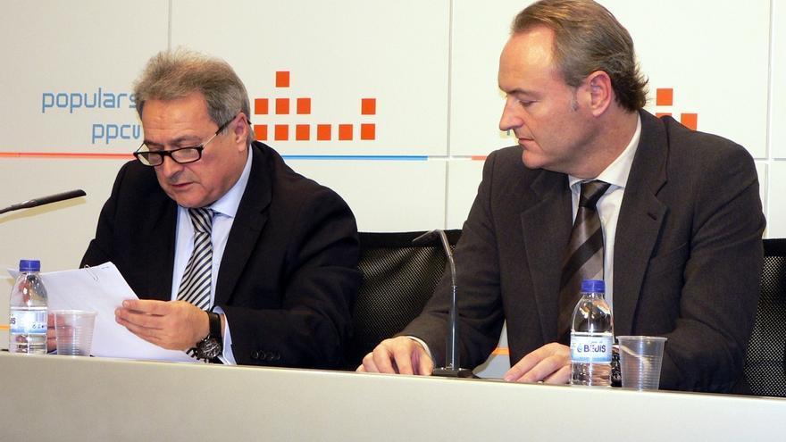 El PPCV acuerda suspender de militancia y abrir expediente disciplinario al presidente provincial Alfonso Rus