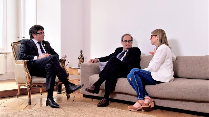 Torra y Puigdemont se reunirán este martes en Berlín y harán una rueda de prensa