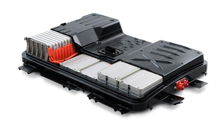 Batería del Nissan Leaf.