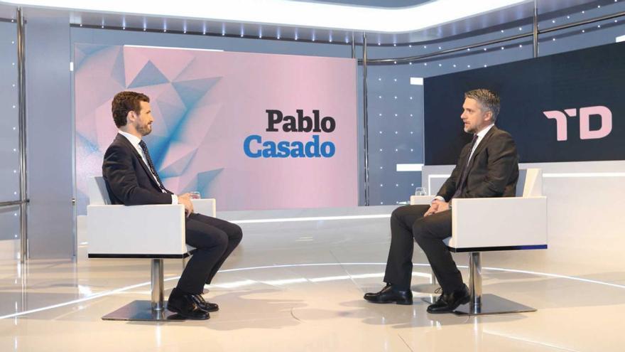 Entrevista en TVE a Pablo Casado
