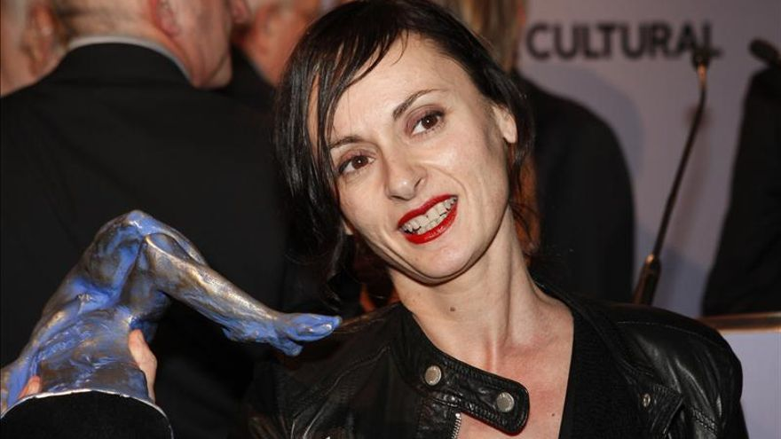Angélica Liddell, ovacionada en el Teatro Odeón de París