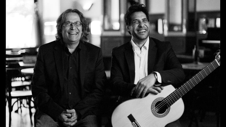 Chano Domínguez y Niño Josele comienzan este domingo en Baluarte la gira para presentar su primer trabajo conjunto