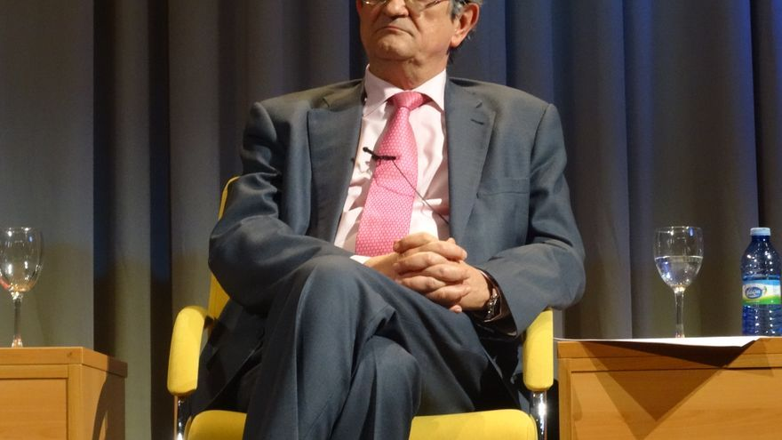 Rafael Calduch, candidato a rector de la Universidad Complutense de Madrid.