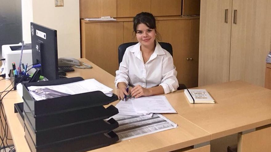 Alumna de Asistencia a la Dirección en Malta.