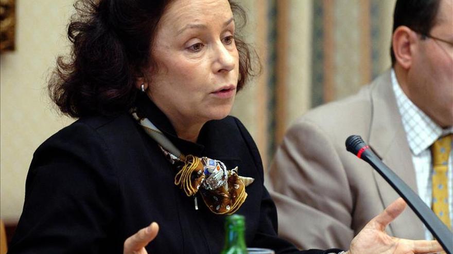 Ana Palacio presenta una querella por injurias contra Luis Bárcenas