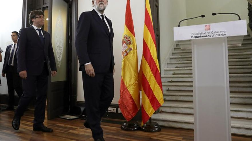 """Puigdemont elogia la respuesta ciudadana de """"reconquista de la normalidad"""""""