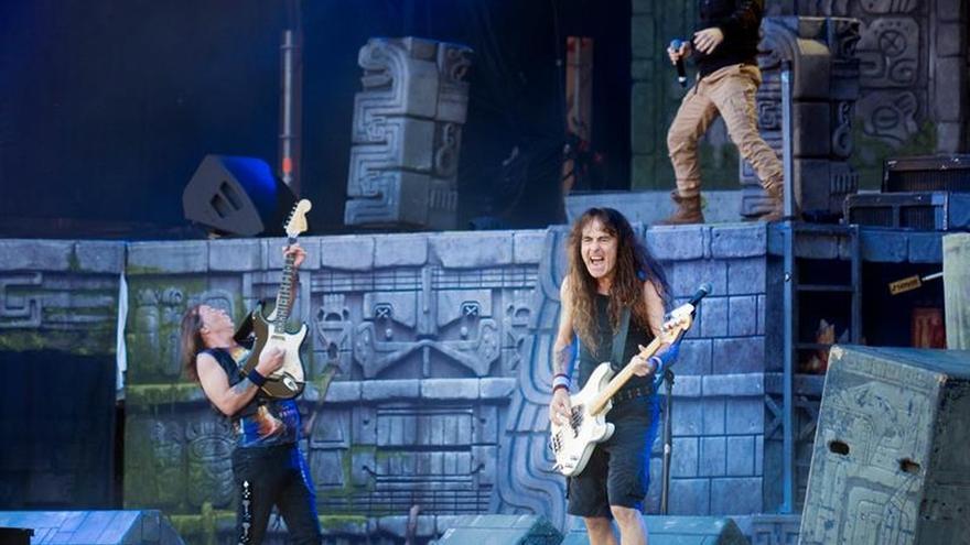 Iron Maiden revive a los muertos a su paso por Madrid
