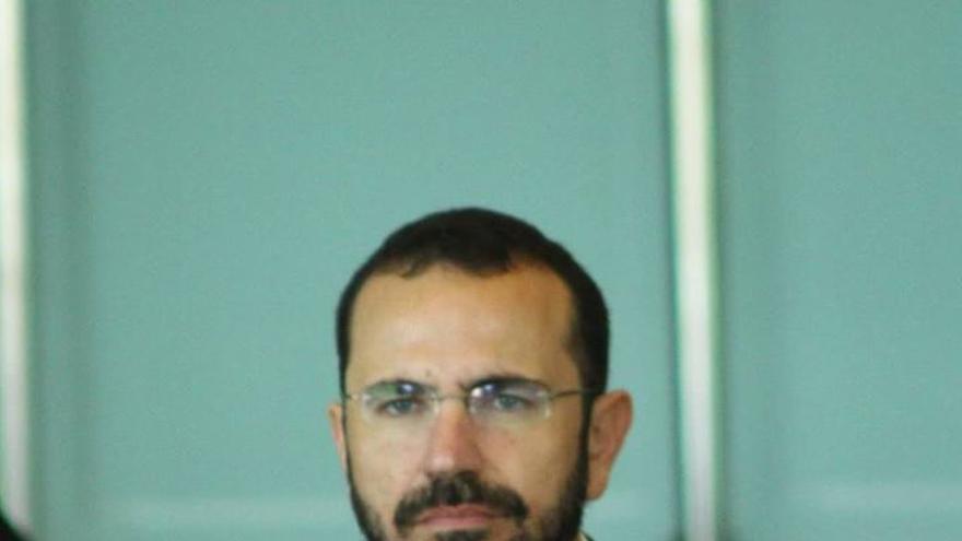 Nicolás Jorge, secretario general del PSOE de Granadilla de Abona.