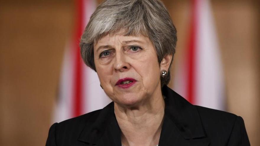 """May advierte de que podría no producirse una tercera votación de acuerdo del  """"brexit"""""""
