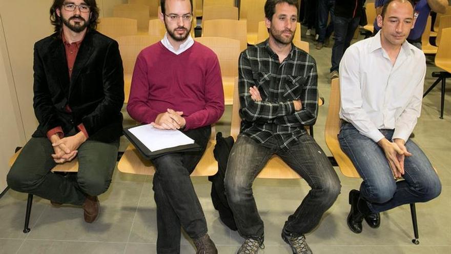 """""""Los 8 de Yesa"""" condenados a multas por resistencia a autoridad y por lesiones"""