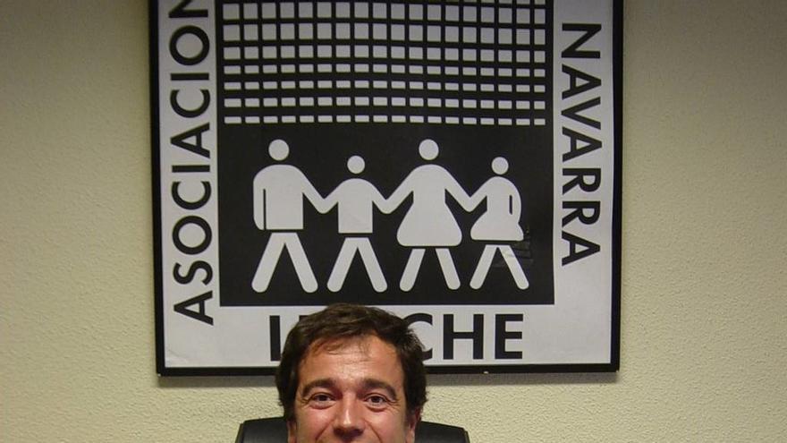Manuel Arizcun, presidente de la Asociación de Consumidores Irache.
