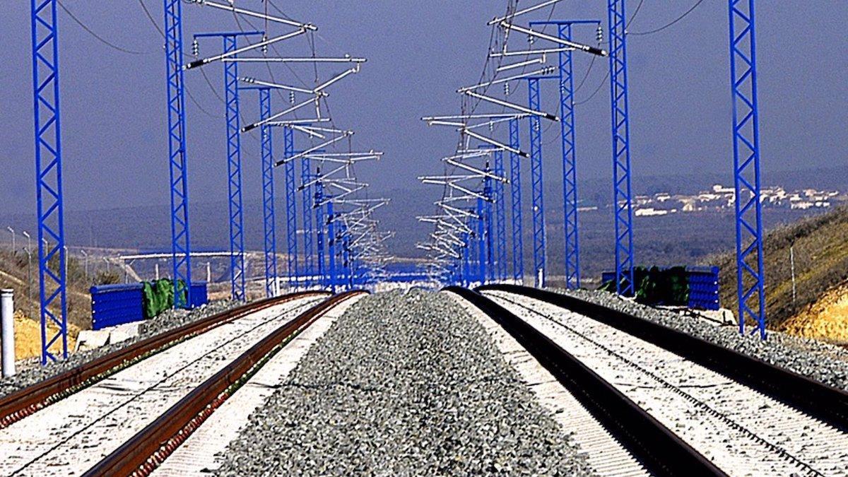 Línea ferroviaria entre Córdoba y Málaga.