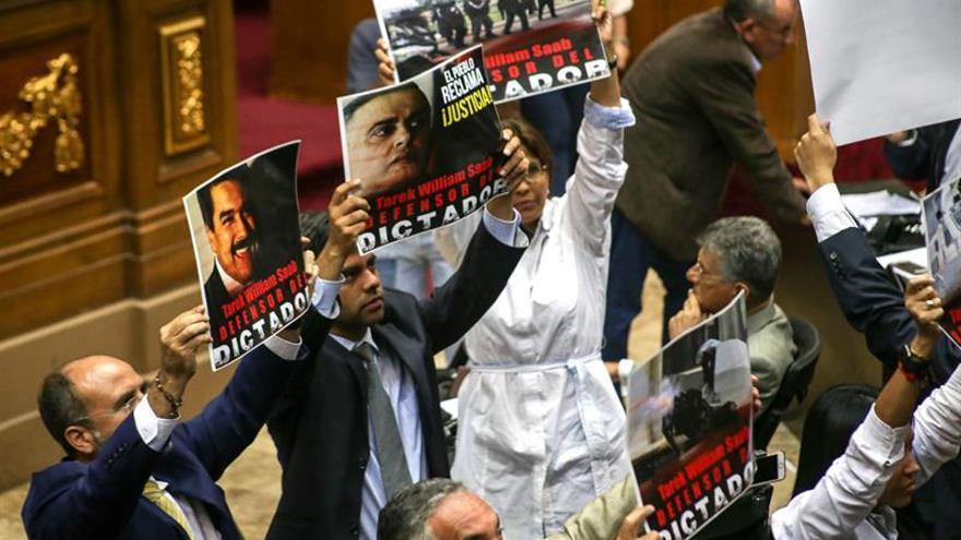 El Parlamento venezolano da plazo al ombudsman para activar la destitución de siete jueces