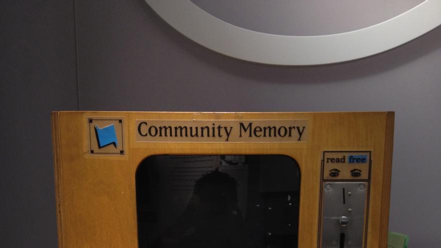 Así lucía uno de los modelos del Community Memory (Imagen: Wikipedia)