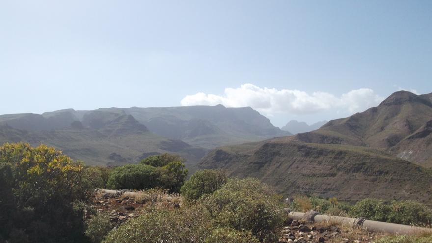 Vista general de Amurga.