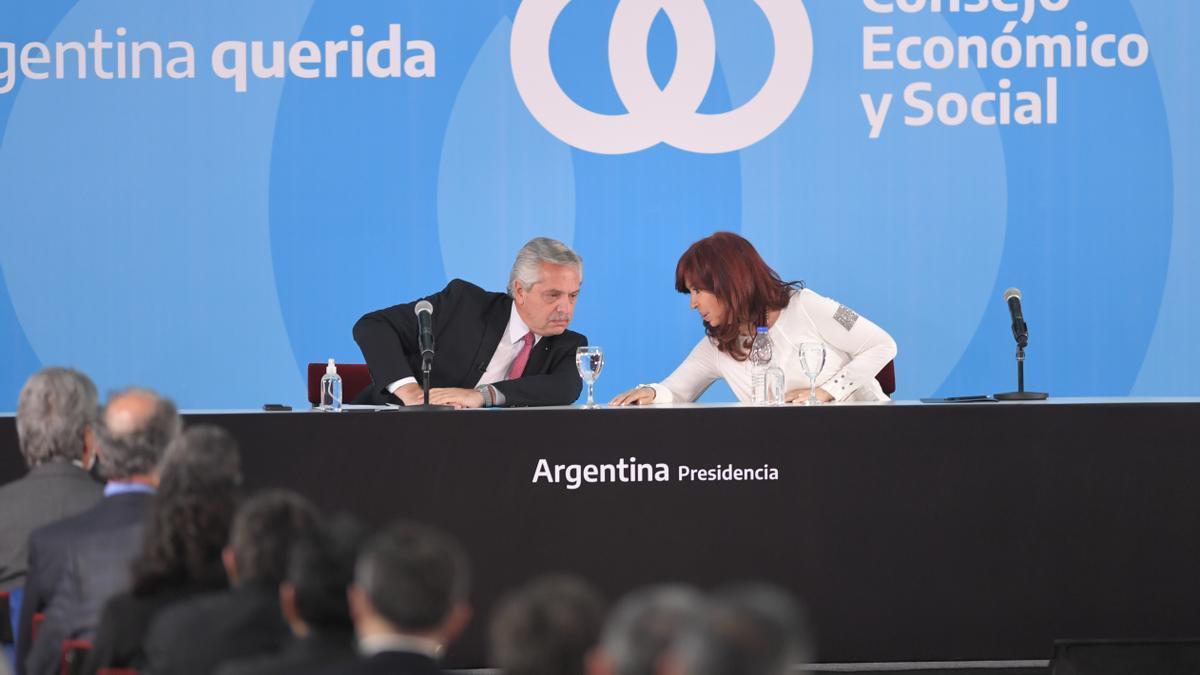 Alberto y Cristina volvieron a mostrarse juntos después de las PASO