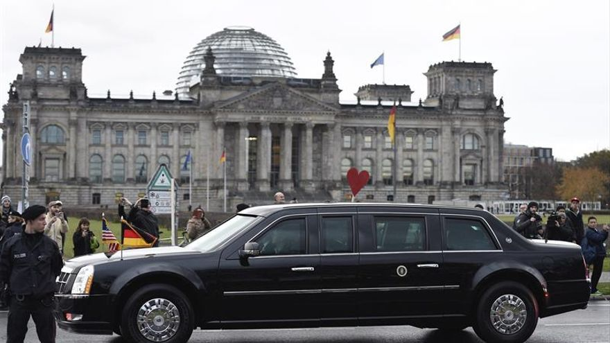 Comienza en Berlín la última cita de Obama con sus aliados europeos