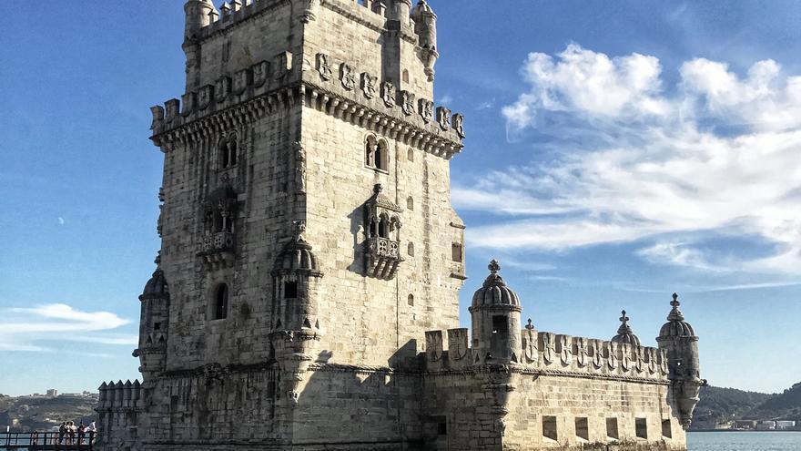 La Torre de Belém a la orilla del río Tajo. Foto: CLAUDIA PAIS.