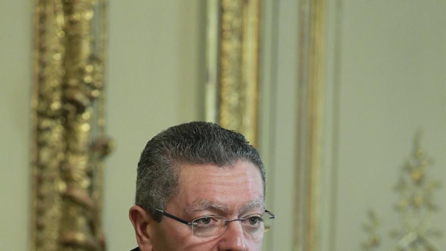 Gallardón dice que Carme Chacón se ha marchado a EEUU porque no está dispuesta a votar a Rubalcaba como presidente