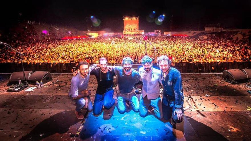 El grupo de música Izal / Foto: @javierphotorosa