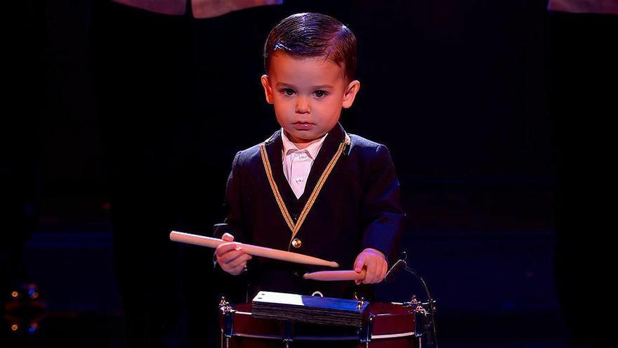 Confirmado: Hugo, el niño prodigio del tambor, es la revelación de 'Got Talent 5'