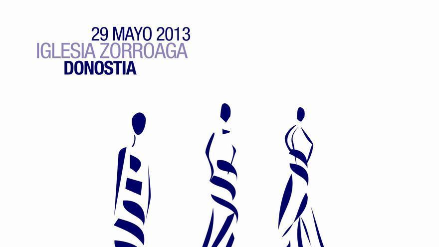La iglesia Zorroaga de San Sebastián acoge el II concurso Gure Moda Gaur, en el que participan 15 jóvenes diseñadores