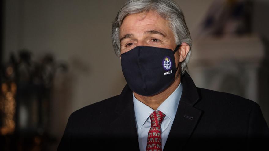 El canciller de Uruguay cierra con Tabaré Vázquez sus visitas a los expresidentes