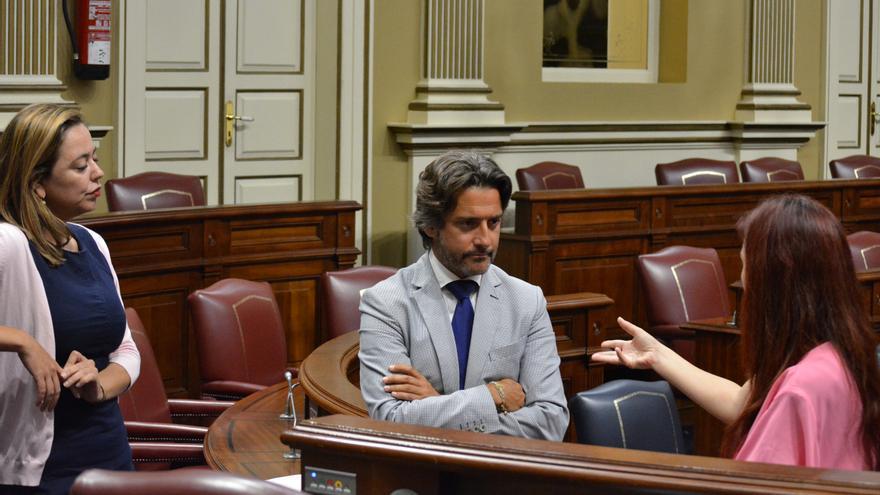 El diputado canario del PSOE Gustavo Matos (Flickr Parlamento de Canarias)