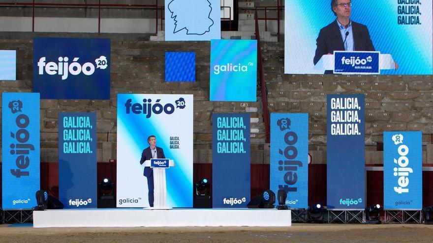 """Feijóo pide no condenar a Galicia a la """"fragmentación política"""""""