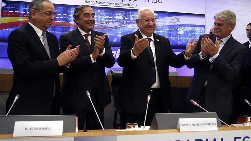 El presidente israelí anima a multinacionales españolas a invertir en I+D+i en su país