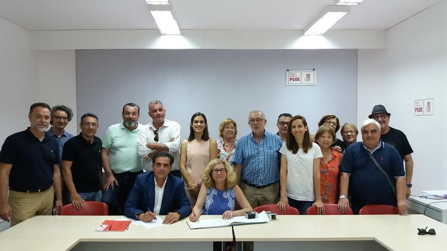 Serrano (PSOE) se presenta a las primarias para ser el candidato a la alcaldía de Murcia bajo el lema 'La Revolución Urgente'