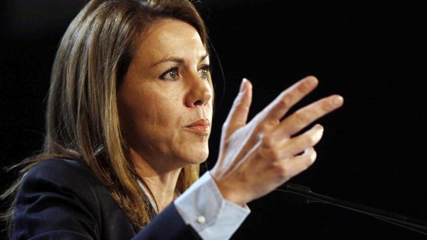 Cospedal anuncia que el PP revisará la gestión de Luis Bárcenas