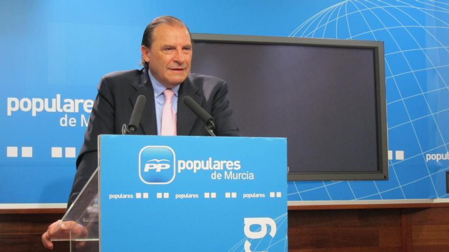 El portavoz económico del PP en el Congreso, Vicente Martínez-Pujalte