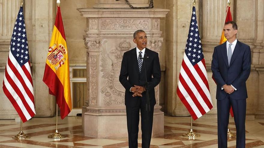 """Obama resalta la """"profunda y estrecha relación"""" entre Estados Unidos y España"""